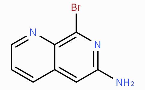 8-溴-1,7-萘啶-6-胺