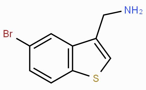 (5-Bromobenzo[b]thiophen-3-yl)methanamine