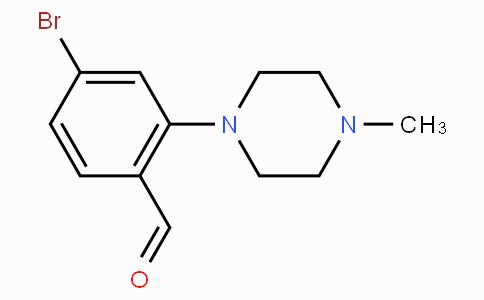 4-Bromo-2-(4-methylpiperazin-1-yl)benzaldehyde