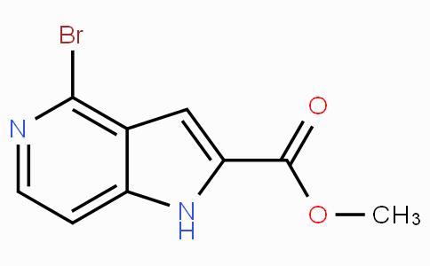 Methyl 4-Bromo-5-azaindole-2-carboxylate