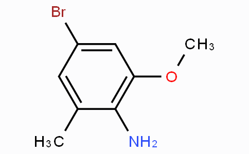 4-Bromo-2-methoxy-6-methylaniline
