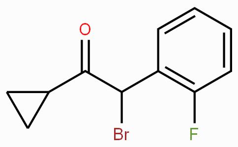 2-Bromo-1-cyclopropyl-2-(2-fluorophenyl)ethanone