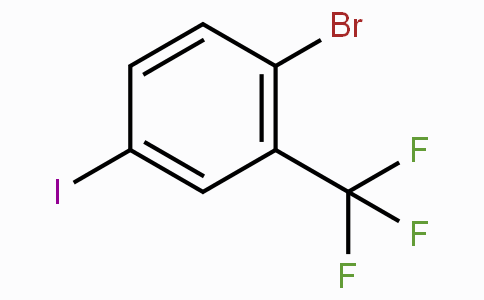 1-Bromo-4-iodo-2-(trifluoromethyl)benzene