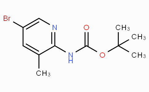 Tert-butyl 5-bromo-3-methylpyridin-2-ylcarbamate