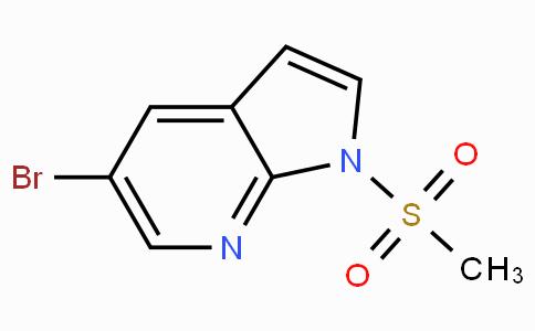 5-Bromo-1-(methylsulfonyl)-1H-pyrrolo[2,3-b]pyridine