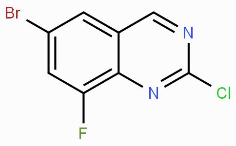 6-Bromo-2-chloro-8-fluoroquinazoline