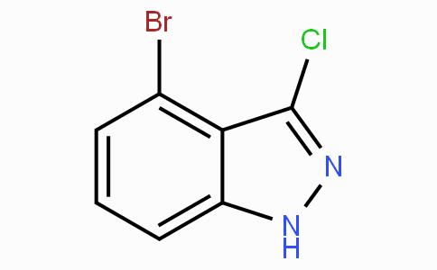 4-溴-3-氯-1H-吲唑