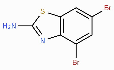 2-Amino-4,6-dibromobenzothiazole