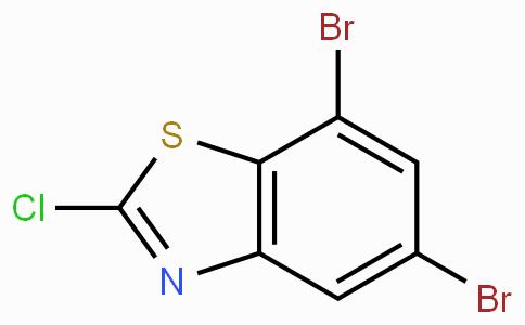 2-Chloro-5,7-dibromobenzothiazole