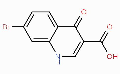 7-Bromo-4-oxo-1,4-dihydroquinoline-3-carboxylic acid