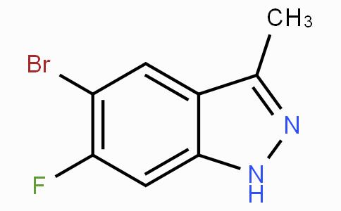 5-Bromo-6-fluoro-3-methyl-1H-indazole