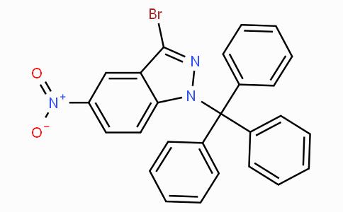 3-Bromo-5-nitro-1-trityl-1H-indazole