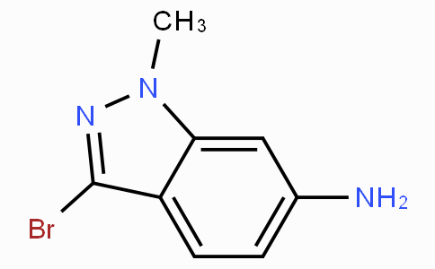 3-Bromo-1-methyl-1H-indazol-6-amine