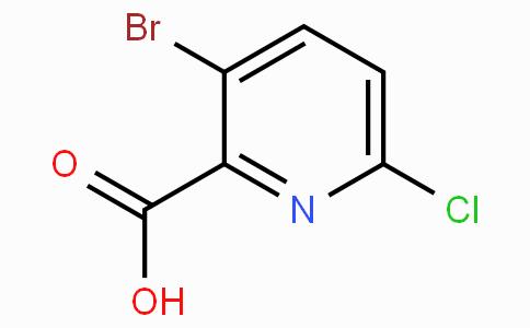 3-Bromo-6-chloropyridine-2-carboxylic acid