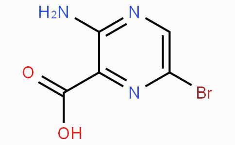 3-氨基-6-溴吡嗪-2-甲酸