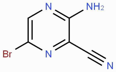 3-氨基-6-溴吡嗪-2-甲腈