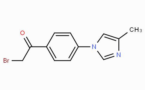 2-Bromo-1-(4-(4-methyl-1H-imidazol-1-yl)phenyl)ethanone