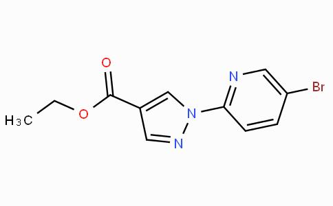 1-(5-Bromo-2-pyridinyl)-1H-pyrazole-4-carboxylic acid ethyl ester