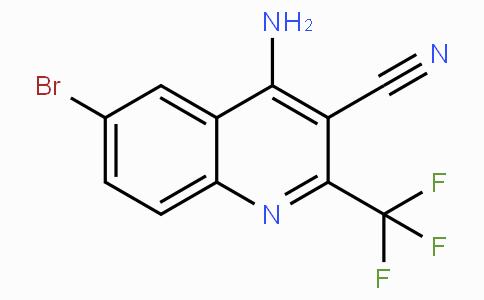 4-Amino-6-bromo-2-(trifluoromethyl)quinoline-3-carbonitrile