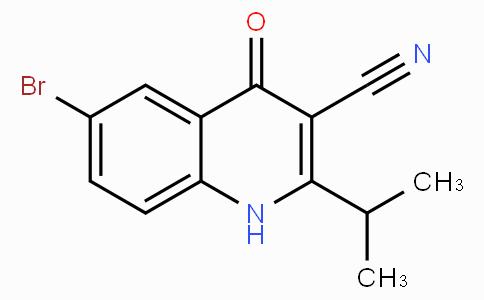 6-溴-2-异丙基-4-氧代-1,4-二氢喹啉-3-甲腈