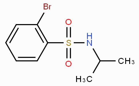 2-Bromo-N-isopropylbenzenesulfonamide