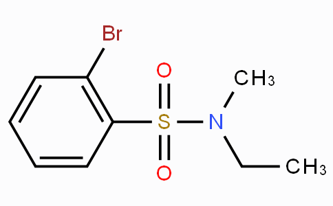 2-溴-N-甲基-N-乙基苯磺酰胺