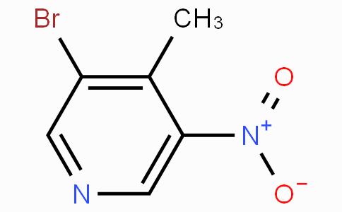 3-Bromo-4-methyl-5-nitropyridine