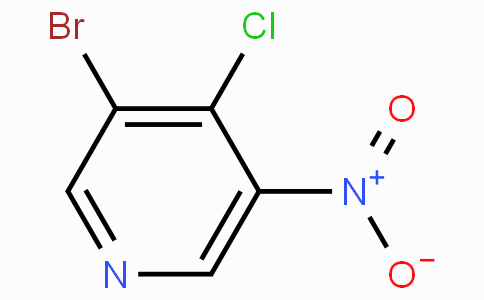 3-溴-4-氯-5-硝基吡啶