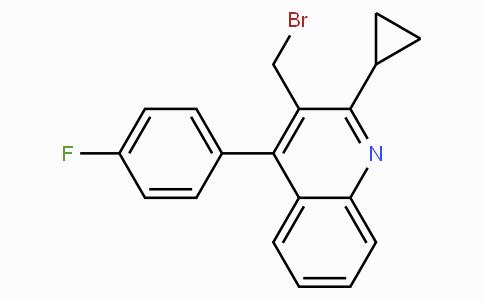 3-溴甲基-2-环丙基-4-(4'-氟苯基)喹啉
