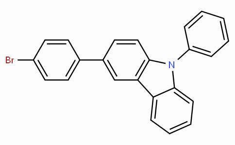 3-(4-Bromophenyl)-9-phenyl—9H-carbazole