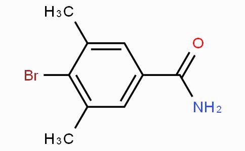 4-溴-3,5-二甲基苯甲酰胺