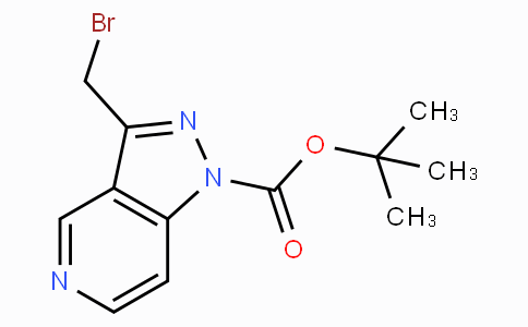 Tert-butyl 3-(bromomethyl)-1H-pyrazolo[4,3-c]pyridine-1-carboxylate