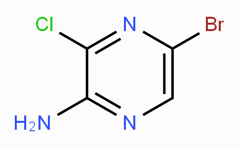 2-Amino-5-bromo-3-chloropyrazine