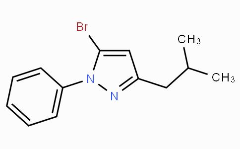 5-Bromo-3-isobutyl-1-phenyl-1H-pyrazole