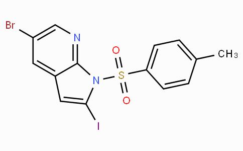 5-Bromo-2-iodo-1-tosyl-1H-pyrrolo[2,3-b]pyridine