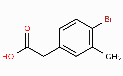 4-Bromo-3-methylbenzeneacetic acid