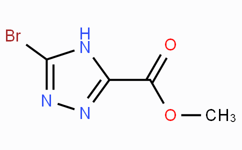 Methyl 5-bromo-4H-1,2,4-triazole-3-carboxylate