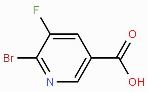 6-Bromo-5-fluoronicotinic acid