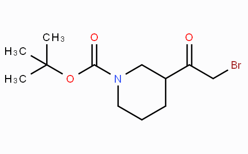 3-(2-Bromo-acetyl)-piperidine-1-carboxylic acid tert-butyl ester
