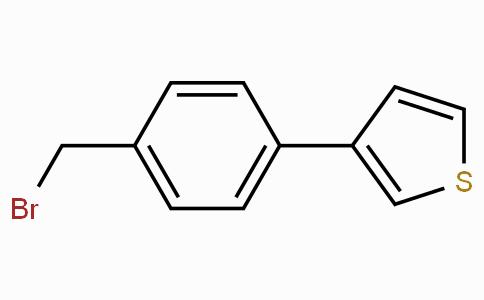 3-[4-(Bromomethyl)phenyl]thiophene