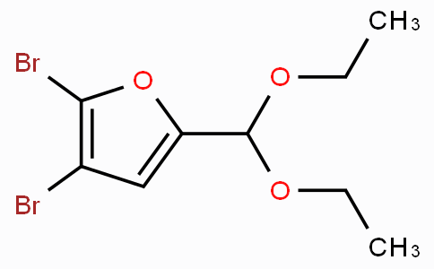 2,3-Dibromo-5-(diethoxymethyl)furan