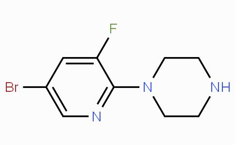 1-(5-Bromo-3-fluoropyridin-2-yl)piperazine