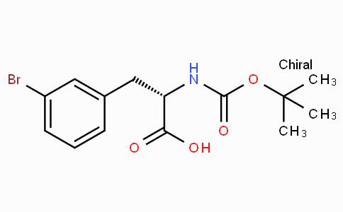 (S)-3-(3-Bromophenyl)-2-(tert-butoxycarbonylamino)propanoic acid