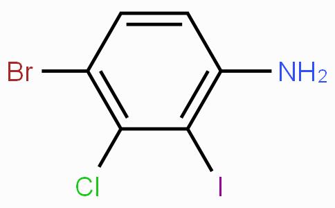 4-溴-3-氯-2-碘苯胺