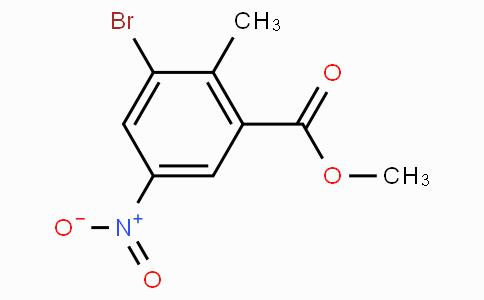 Methyl 3-bromo-2-methyl-5-nitrobenzoate