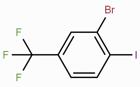 2-Bromo-1-iodo-4-(trifluoromethyl)benzene