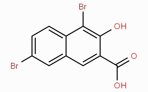 4,7-二溴-3-羟基-2-萘甲酸
