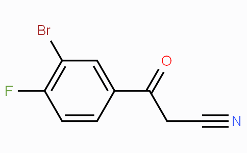 3-(3-Bromo-4-fluorophenyl)-3-oxopropanenitrile