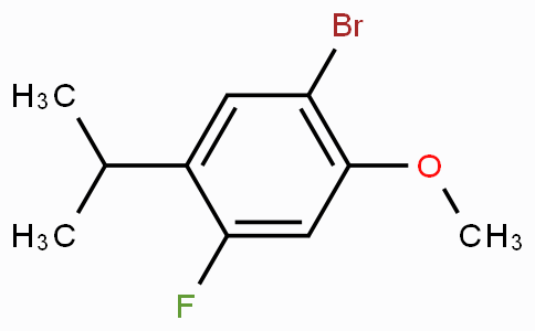1-Bromo-4-fluoro-5-isopropyl-2-methoxybenzene