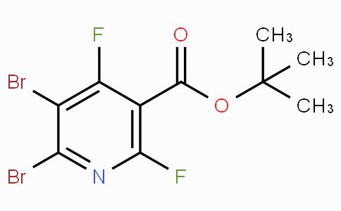 Tert-butyl 5,6-dibromo-2,4-difluoronicotinate